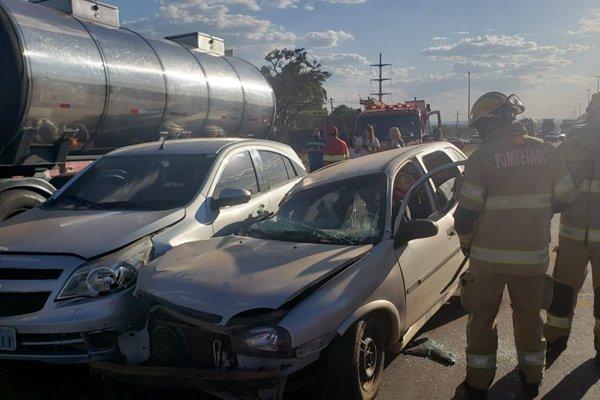 acidente na BR-060