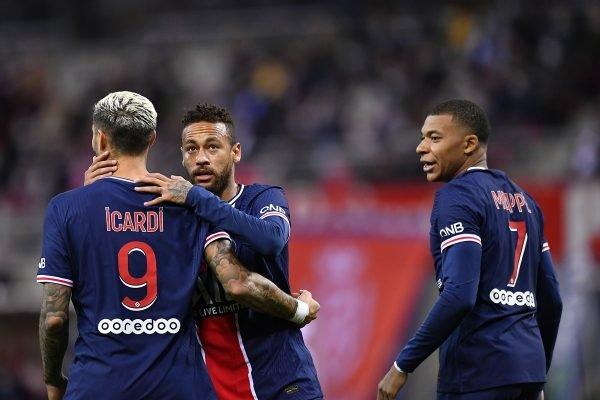 Neymar, Icardi e Mbappé PSG