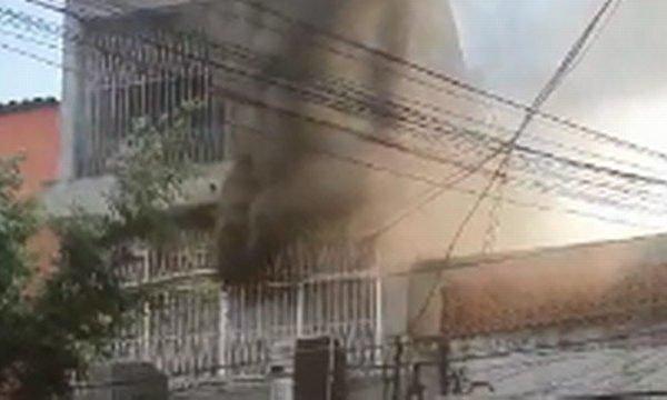 Incêndio em Niterói
