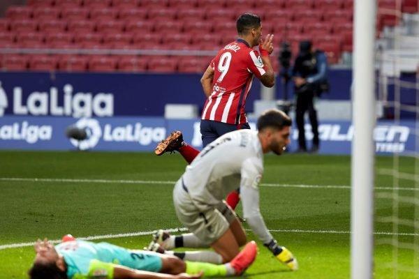 Suárez estreia no Atlético de Madrid