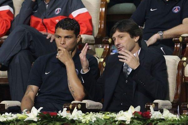 Thiago Silva e Leonardo
