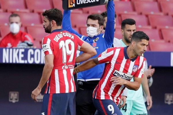 Diego Costa e Luis Suárez
