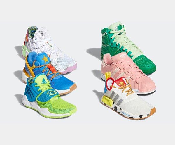 Tênis da Adidas inspirados em Toy Story