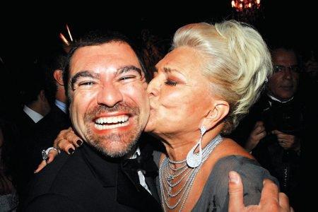 Marcello Camargo e Hebe Camargo