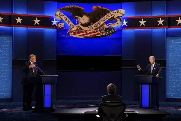 Primeiro debate entre Trump e Biden