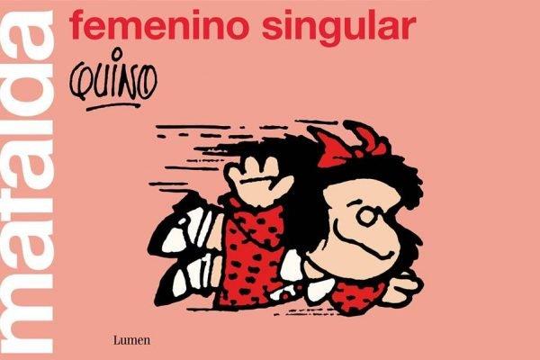 Livro de tirinhas feministas de Mafalda