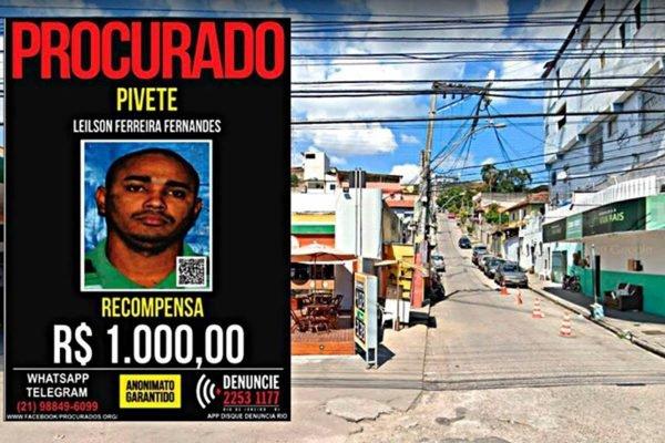 Traficante Pivete faz festa no Rio de Janeiro