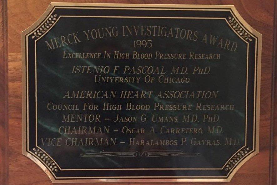 Prêmio Jovem Investigador de 1995 da Associação Americana de Cardiologia