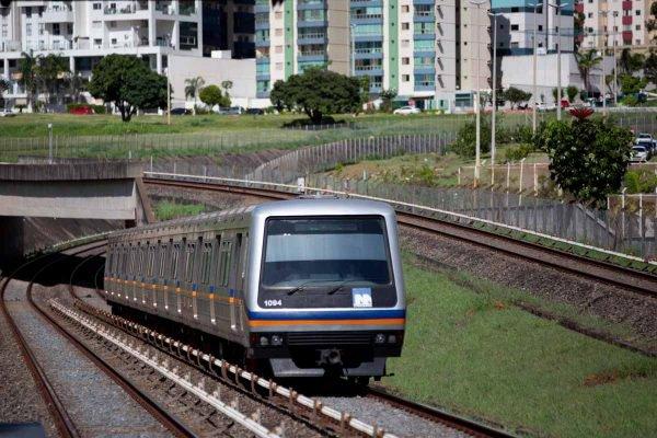 Metrô DF - Estação Águas Claras
