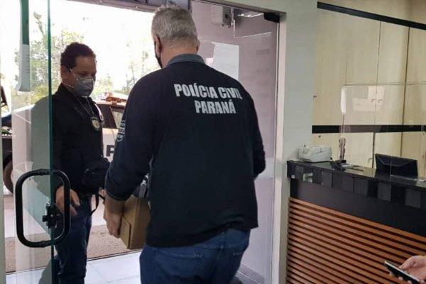 Polícia Civil do Paraná faz operação contra venda de operações bariátricas pelo SUS