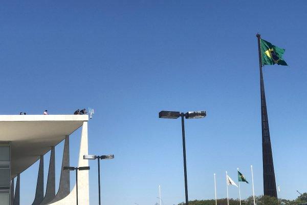 antena antidrones Palácio do planalto