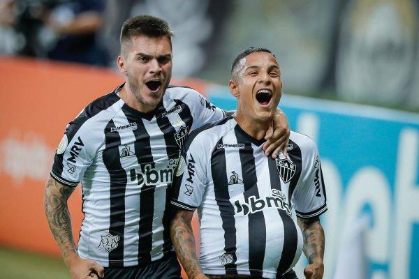 Nathan e Guilherme Arana Atlético-MG