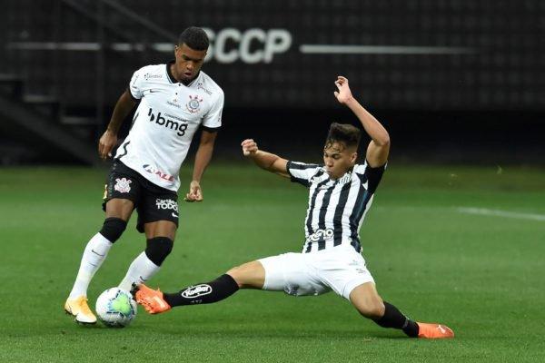 Corinthians empata com o Santos