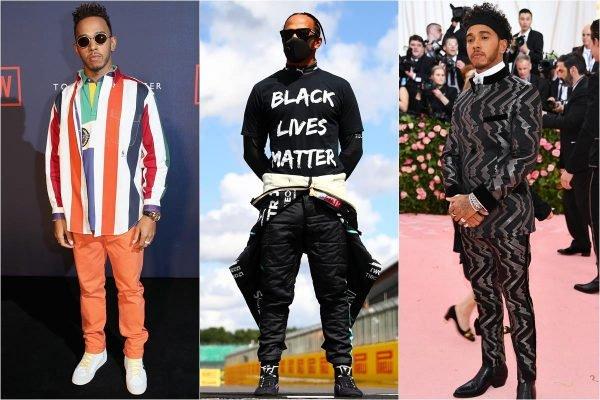 Lewis Hamilton roupas