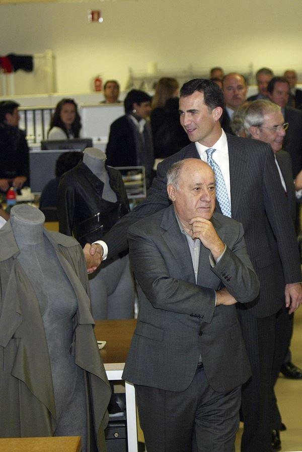 Amancio Ortega fundador da zara