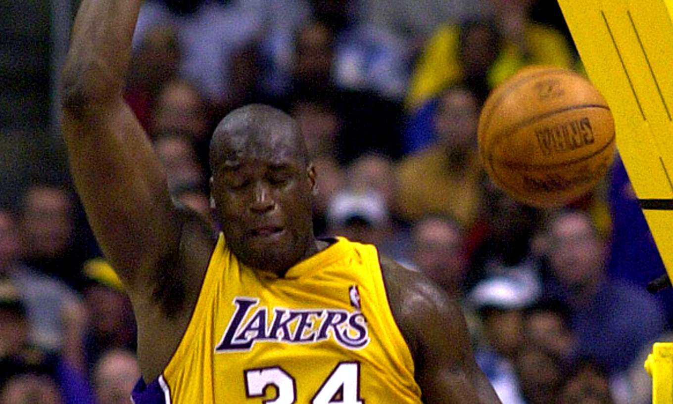 Lakers Shaquille O'Neal