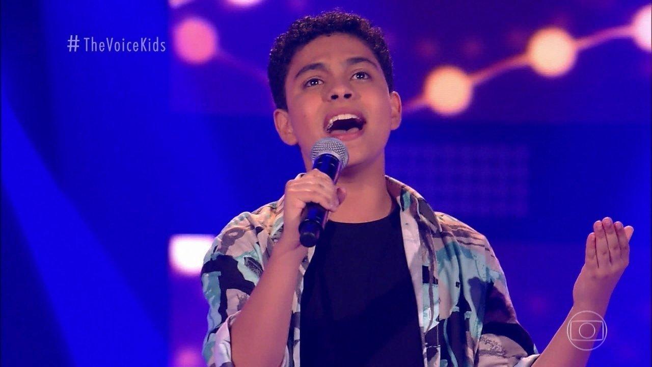Com 50 50 Dos Votos Kaue Penna E O Grande Vencedor Do The Voice Kids