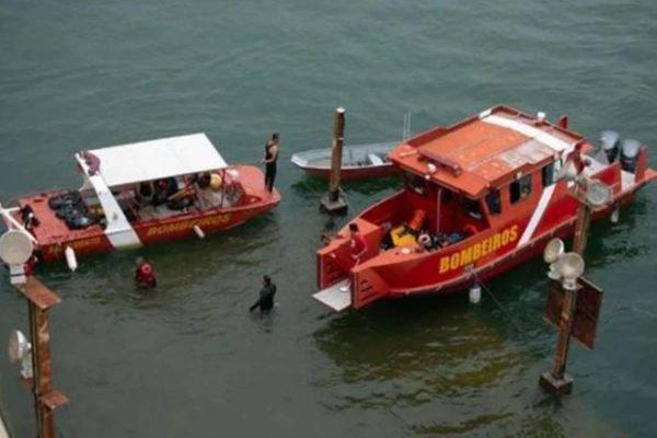 Corpo de Bombeiros busca jovem que caiu no Lago Paranoá
