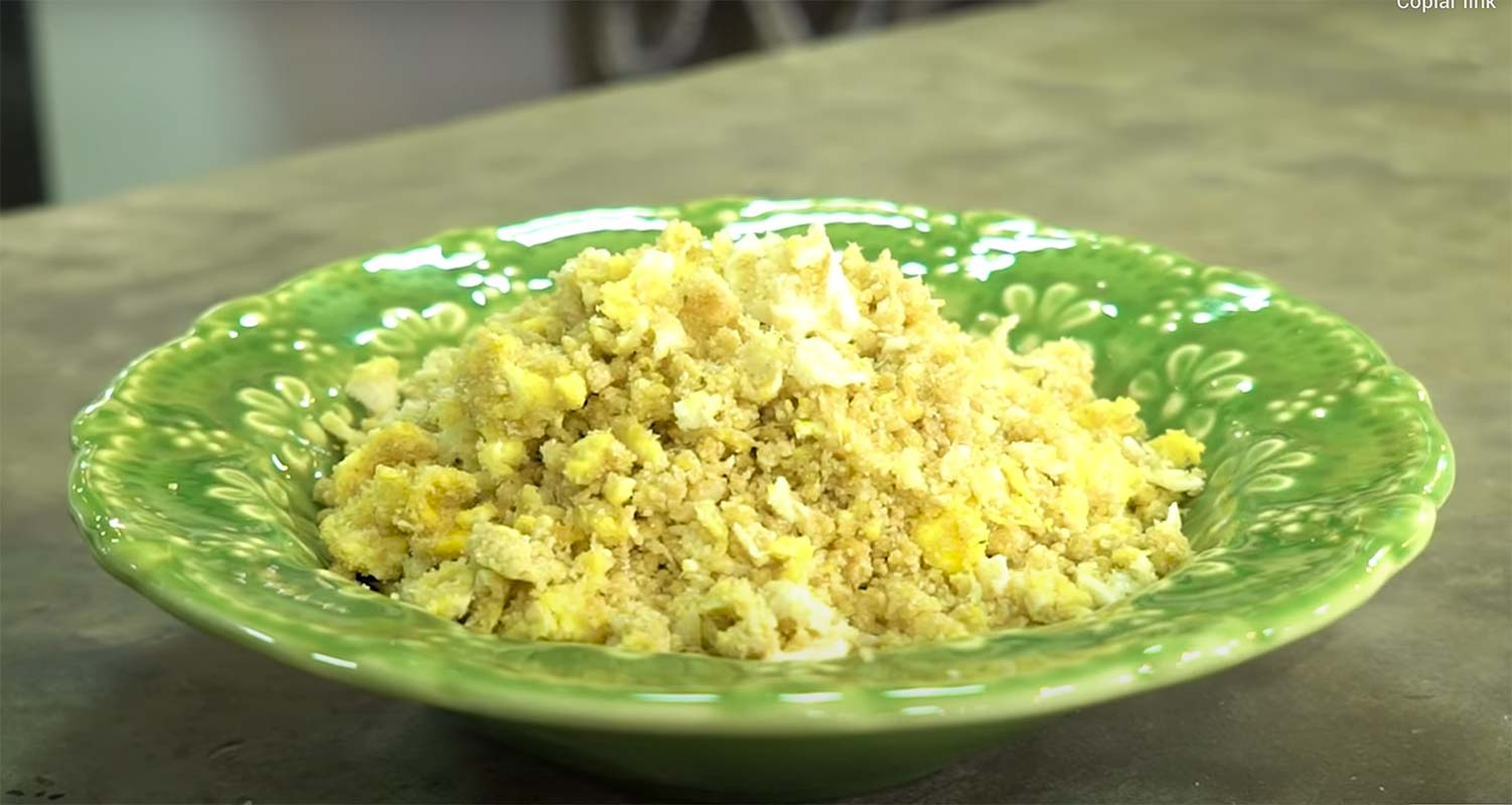 Farofa de ovo