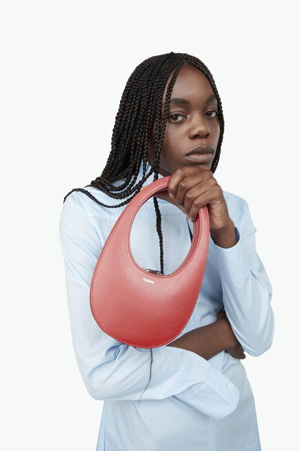 Mini Swipe Bag, da marca Coperni