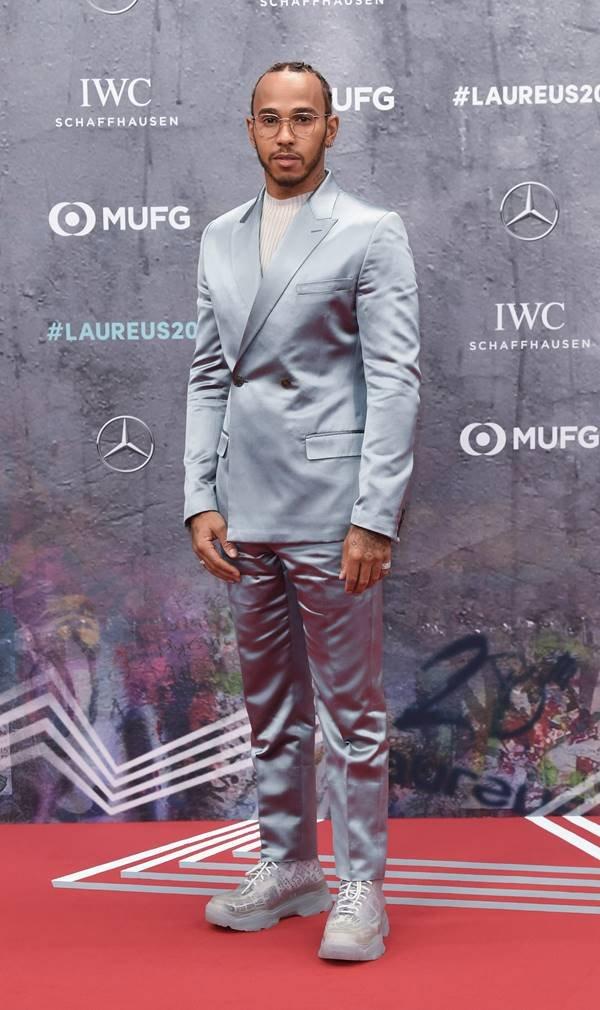 Lewis Hamilton em evento