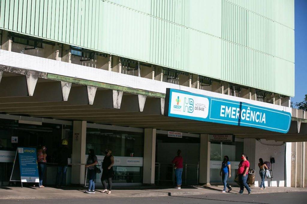 Hospital de Base, administrado pelo Iges-DF