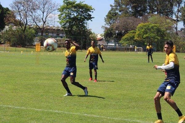 Treino do Brasiliense Futebol Clube