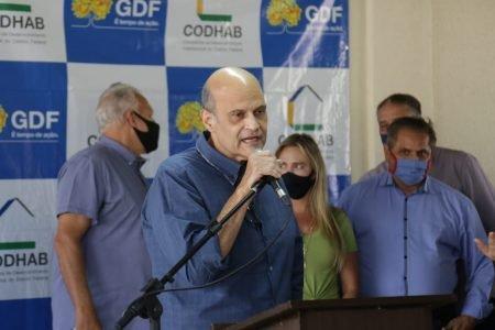 Vice-governador Paco Brito em Samambaia