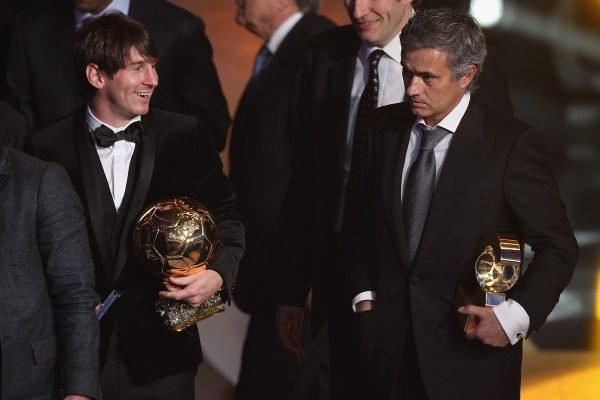 Messi e Mourinho