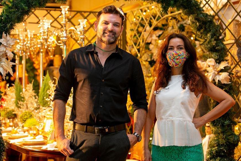Ricardo Azevedo e Claudia Meireles