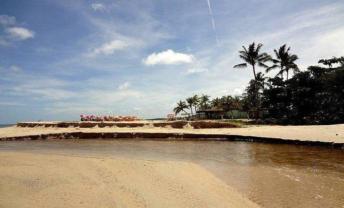 Praia Rio dos Mangues em Porto Seguro