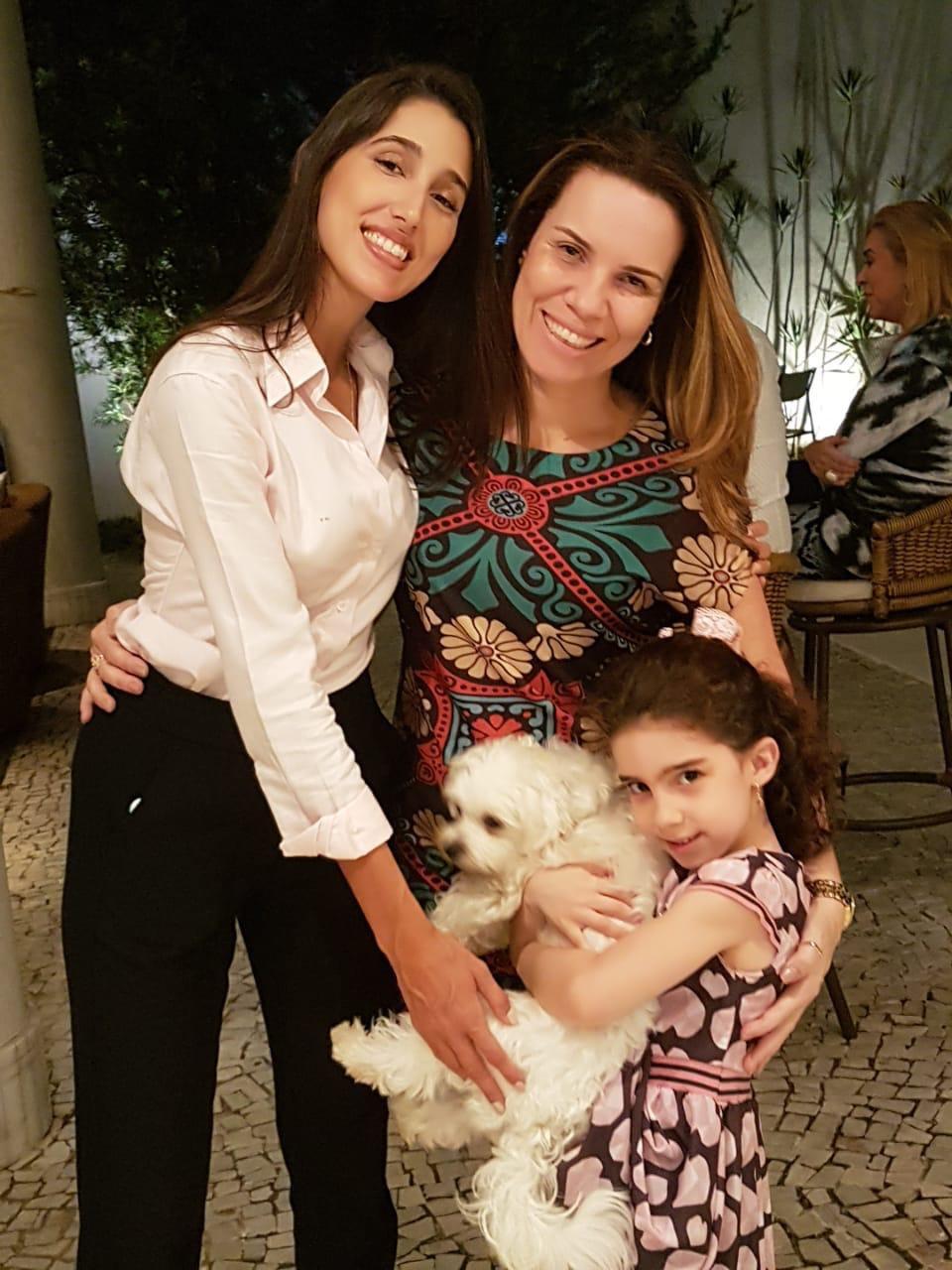 Fernanda Gonzaga, Daniela e Gabizinha Chagas