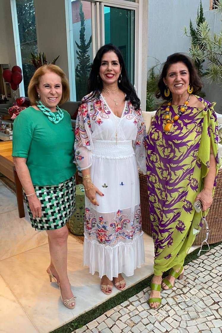 Janete Vaz, Sônia Gontijo e Irany Poubel