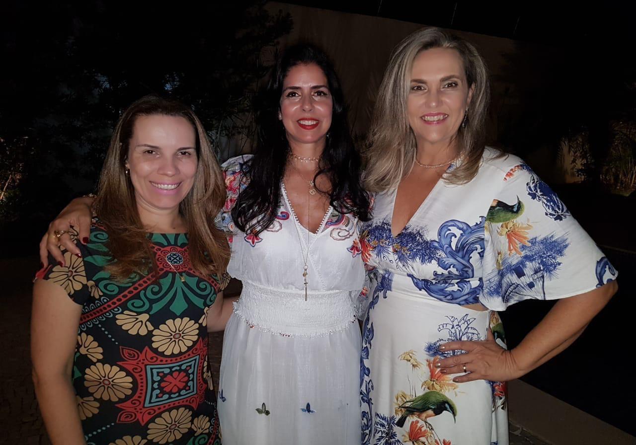 Daniela Chagas, Sônia Gontijo e Moema Passos
