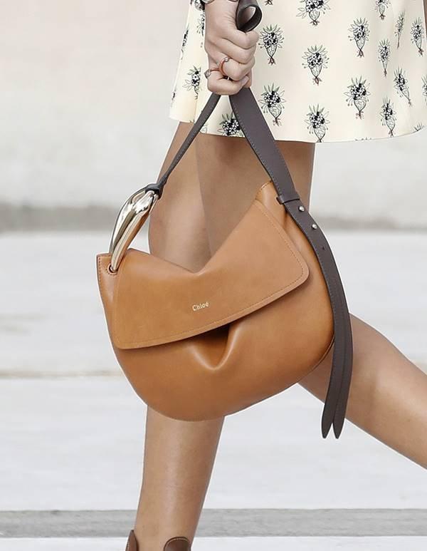 Chloé - bolsa com fechamento flap