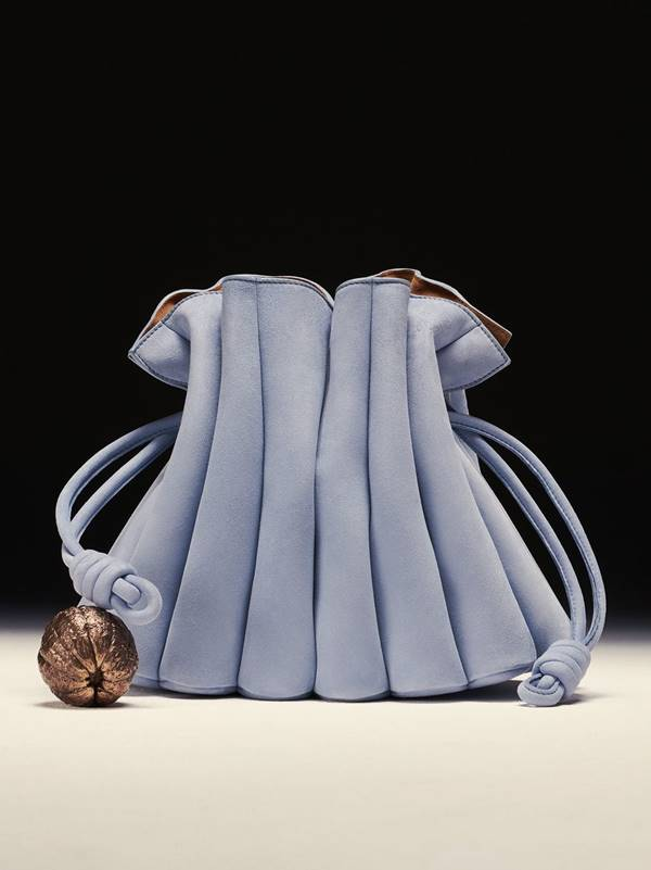 Loewe - bolsa com detlhes franzidos