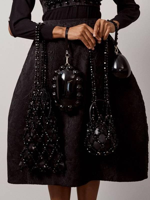 Simone Rocha - bolsas estilo rede