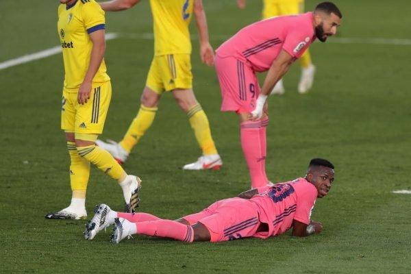 Real Madrid perde para o Cadiz