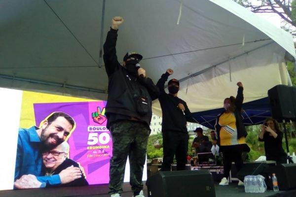 Evento na Cohab com o candidato a prefeito de São Paulo, Guilherme Boulos