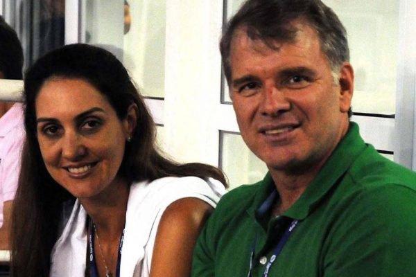 Fernanda Venturini e Bernardinho