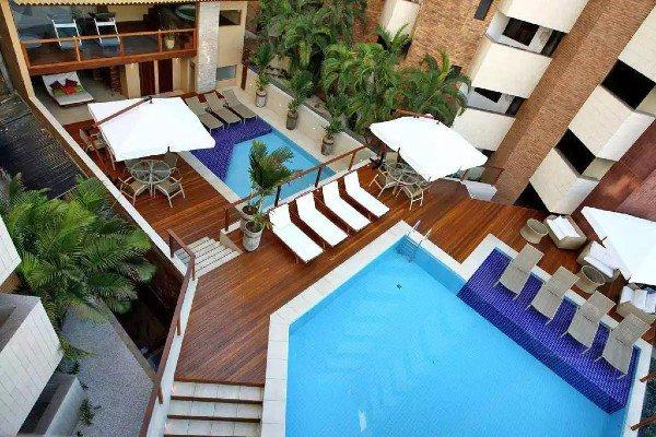 Duas diárias no San Marino Hotel Maceió (AL)