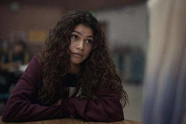 Zendaya em Euphoria, da HBO