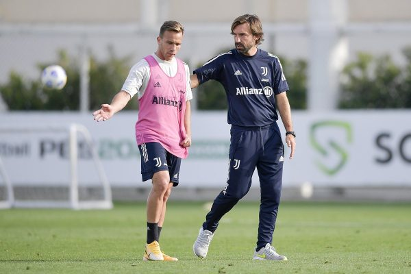 Pirlo e Arthur Juventus