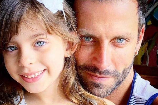 Henri Castelli e a filha Duda