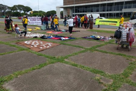 protesto ambulantes buriti