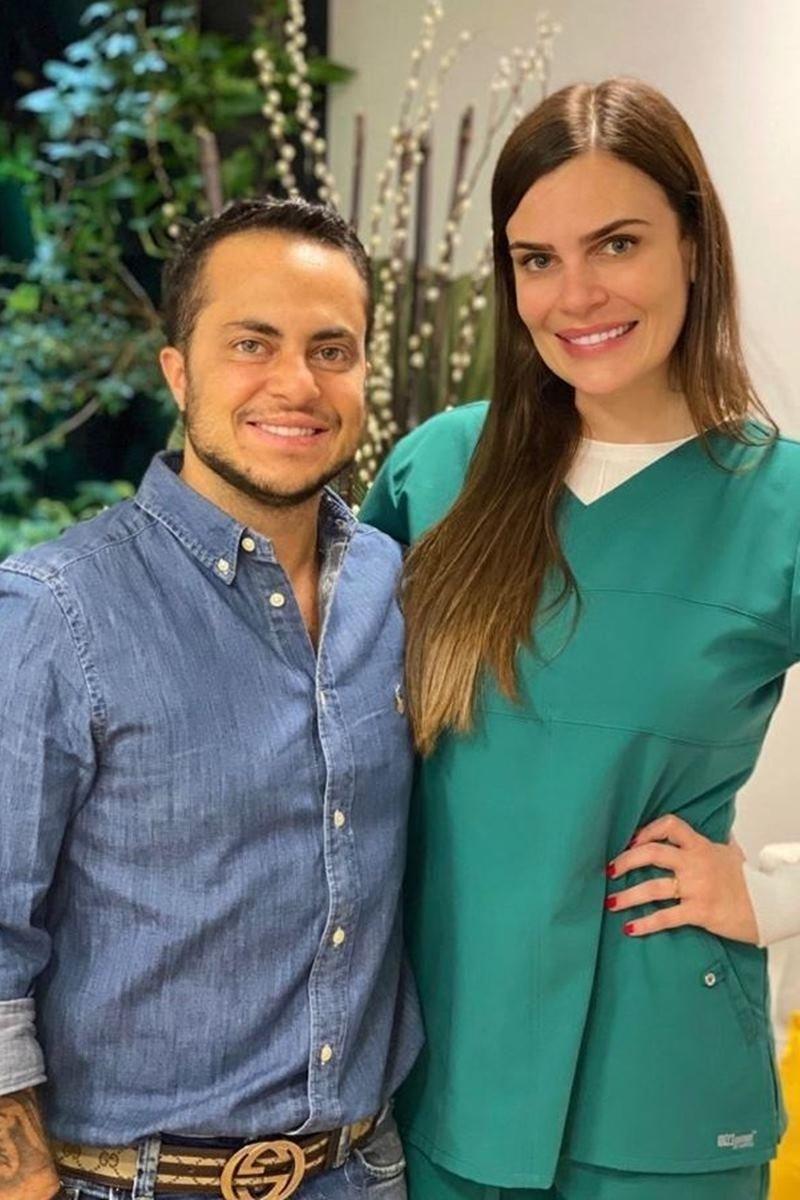 Thammy Miranda e Luciana Passoni