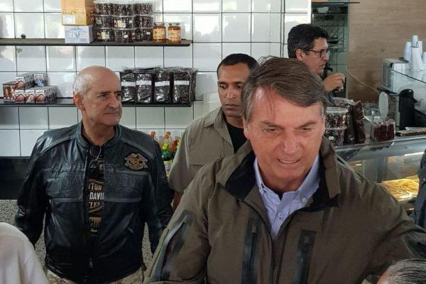 presidente Jair Bolsonaro com Luiz Eduardo Ramos