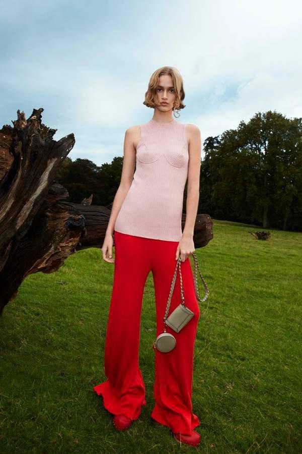 Look da coleção primavera/verão 2021 da Stella McCartney
