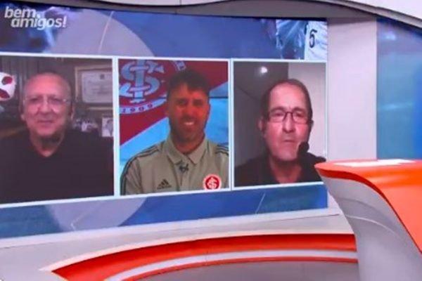 Muricy e Coudet no SporTV