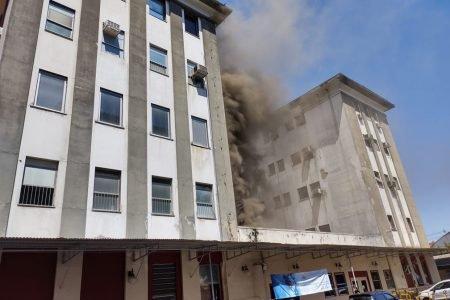 incendio atinge hospital do rio de janeiro